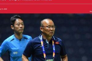 Báo châu Á nói gì về cơ hội đi tiếp của U23 Việt Nam?