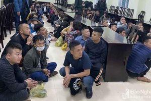 Tin mới vụ sới bạc 'khủng' trong quán karaoke ở Nghệ An