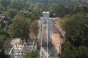 Đình chỉ công trình cầu đáy kính tại thắng cảnh Thung lũng Tình yêu