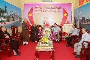 Phật giáo Đồng Tháp, Tây Ninh, Gia Lai chúc Tết