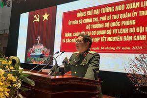 Bộ trưởng Ngô Xuân Lịch chúc Tết Bộ Tư lệnh Bộ đội Biên phòng