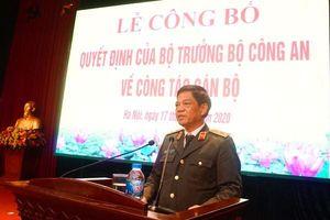 Công an Hà Nội: Bổ nhiệm, điều động 7 đồng chí chỉ huy cấp phòng và quận, huyện