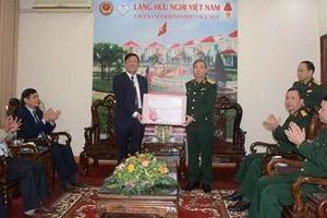 Thượng tướng Đỗ Căn thăm, chúc Tết Làng Hữu nghị Việt Nam