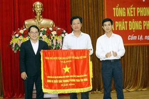 UBND P. Khuê Trung nhận cờ thi đua của Chính phủ
