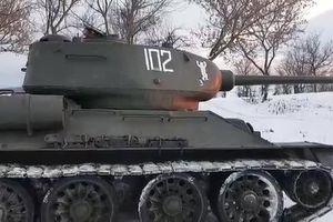 Xe tăng T-34 huyền thoại từ Thế chiến thứ II vẫn gầm rú mãnh liệt