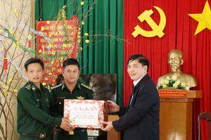 Lãnh đạo tỉnh Đắk Lắk thăm, chúc tết cán bộ, chiến sỹ BĐBP Đắk Lắk