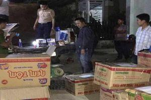 Bắt xe tải chở gần 400kg pháo từ Nghệ An vào Quảng Nam tiêu thụ