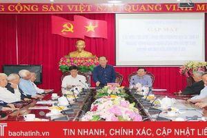 Mong muốn cán bộ lãnh đạo các thời kỳ đồng hành cùng sự phát triển của TP Hà Tĩnh