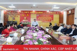 Đảng ủy Khối Các Cơ quan và doanh nghiệp Hà Tĩnh lấy ý kiến góp ý văn kiện đại hội