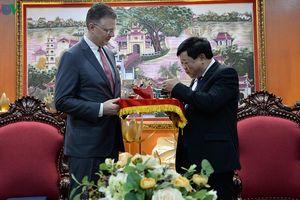 Đại sứ Mỹ thăm VOV và khẳng định Mỹ muốn Việt Nam thành công
