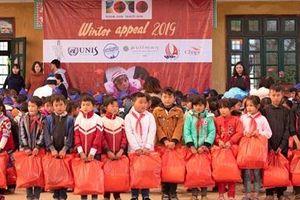 'Áo ấm mùa đông': mang tới cái Tết trọn vẹn và ấm áp cho trẻ em tại những vùng khó khăn