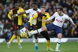 Vòng 23 Premier League: Tottenham hòa thất vọng trên sân của Watford