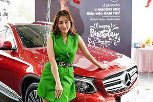 Cận cảnh Mercedes-Benz GLC tiền tỷ của nữ diễn viên... 'nghèo'