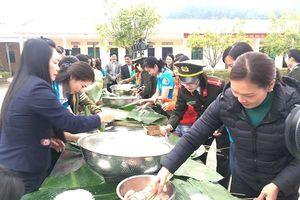 'Xuân Biên phòng- ấm lòng dân bản' ở biên cương Lạng Sơn