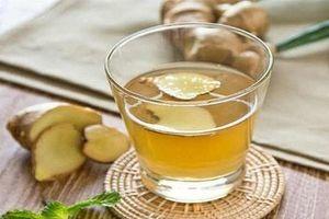 Nước uống giải rượu đơn giản sẵn có trong bếp