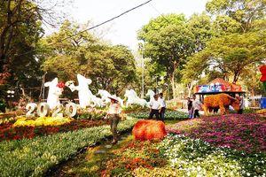 Hơn 4.000 hiện vật được trưng bày tại Hội hoa Xuân TP.HCM