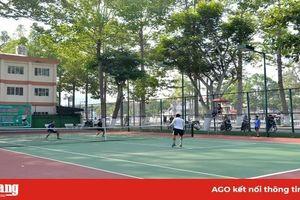 Khai mạc Giải quần vợt tỉnh An Giang mừng Đảng, mừng Xuân Canh Tý 2020