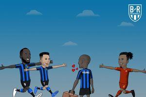 Biếm họa 24h: Lukaku và Sanchez xếp hàng đón Ashley Young