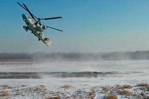 Xem 'cá sấu' Ka-52 'múa ba lê' trên bầu trời