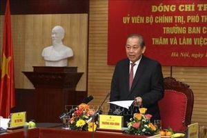 Phó Thủ tướng Thường trực Trương Hòa Bình thăm, chúc Tết lực lượng Công an, Hải quan