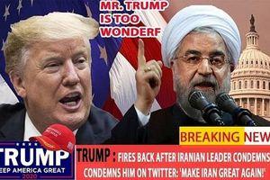 Trump kêu gọi địch thủ hãy 'làm Iran vĩ đại trở lại'