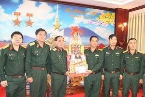 Thượng tướng Trần Đơn kiểm tra, chúc Tết các đơn vị tại Tây Ninh