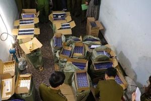 Hà Nội: Phát hiện 15.000 bao thuốc lá điếu có dấu hiệu nhập lậu