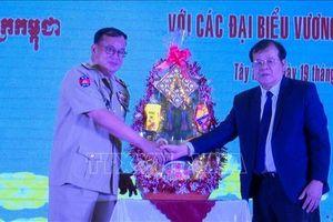 Tây Ninh tăng cường hợp tác với các tỉnh giáp biên của Campuchia