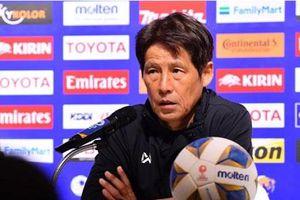 VCK U23 châu Á 2020: Bị loại khỏi giải, HLV Akira Nishino vẫn tỏ ra lạc quan