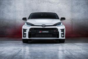 Ảnh chi tiết Toyota GR Yaris 2020 dành cho đường đua