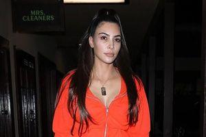 Kim Kardashian để mặt mộc đi làm đẹp, khoe vẻ trẻ trung ở tuổi U40
