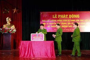 Học tập gương dũng cảm hy sinh của các chiến sỹ tại xã Đồng Tâm
