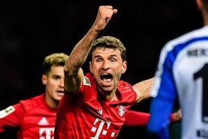 Bayern trở lại tốp 2 sau màn 'hủy diệt' đội bóng của Klinsmann
