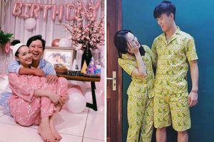 Vợ chồng sao Việt mặc đồ ngủ đôi: Đông Nhi và Ông Cao Thắng ngọt ngào khiến fans phát cuồng