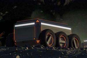 Khởi nghiệp bằng robot đào khoáng sản trên Mặt trăng