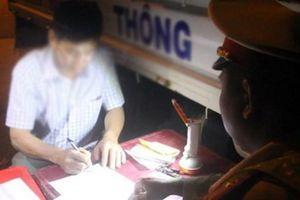 Đắk Lắk: Tài xế bị phạt 35 triệu đồng do vi phạm nồng độ cồn