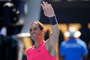 Thua dễ trước Nadal, tay vợt vẫn hớn hở: 'Người dân đất nước tôi xem trận đấu như chung kết World Cup'