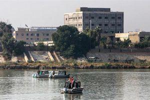 Rốc két rơi gần Đại sứ quán Mỹ tại Iraq