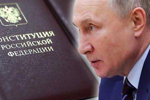 Ông Putin chính thức trình dự thảo sửa đổi Hiến pháp