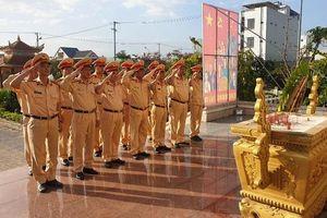 CSGT Đà Nẵng phát động thi đua học tập tấm gương dũng cảm của 3 liệt sỹ CAND hy sinh tại xã Đồng Tâm