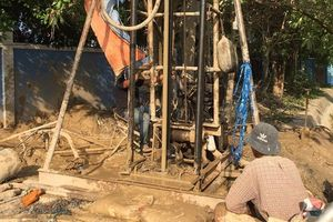 Khai thác thêm 4 giếng nước ngầm để 'giải khát' hạn mặn ở Sóc Trăng