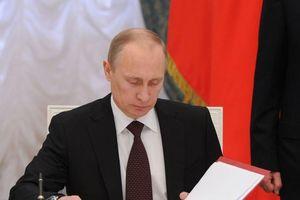 Quyết định bất ngờ của Tổng thống Nga Putin