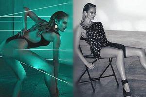 Candice Swanepoel thả dáng tuyệt mỹ với đôi chân dài mê mải