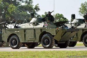 Nga bàn giao thêm cho Lào một loạt xe tăng - thiết giáp nâng cấp