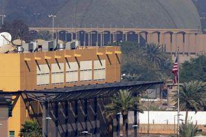 Tên lửa bắn trúng Vùng Xanh, rơi gần Đại sứ quán Mỹ ở Baghdad, Iraq