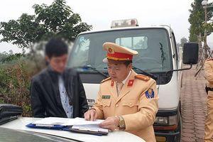 Xử phạt lái xe bus 'say xỉn' chở khách ở Hà Nội