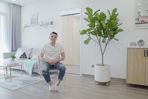 500 triệu cải tạo nội thất căn hộ Vinhomes như nhà vùng biển Malibu