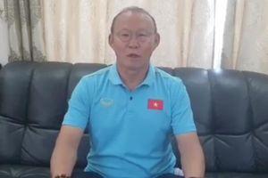 HLV Park chúc Tết người hâm mộ Việt Nam