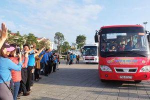 Đà Nẵng: Niềm vui 2.500 lao động trên 'Chuyến xe Công đoàn'