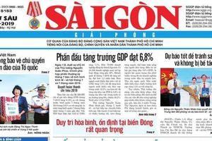 Báo SGGP điều chỉnh lịch xuất bản số báo Tất niên và Tân niên